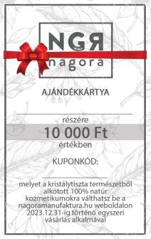 Ajándékkártya 10 000 Ft