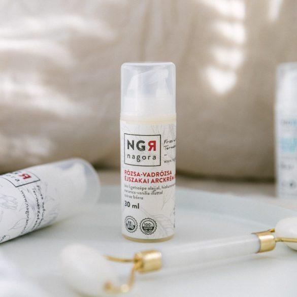 Rózsa-vadrózsa éjszakai arckrém száraz bőrre 30+ 30ml