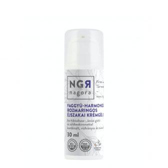 Faggyú-harmonizáló, rozmaringos éjszakai krémgél 30+ kombinált, vízhiányos és zsíros bőrre 30 ml