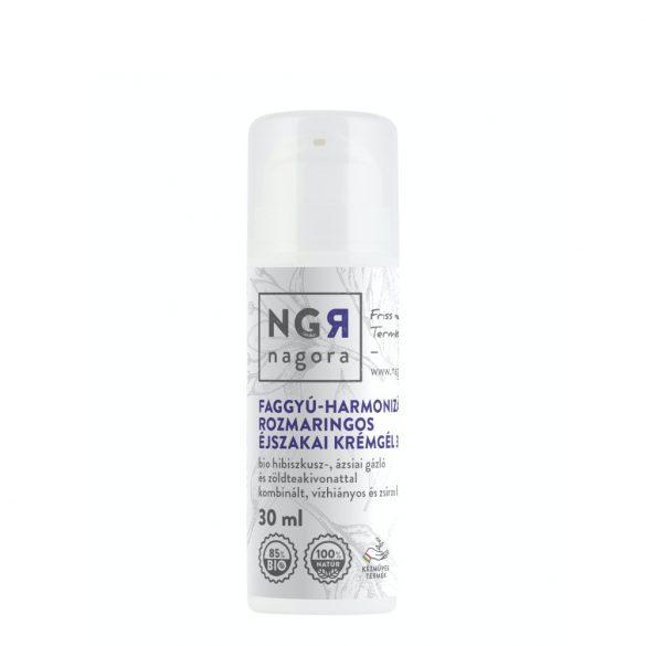 Faggyú-harmonizáló, rozmaringos krémgél 30+ kombinált, vízhiányos és zsíros bőrre 30 ml