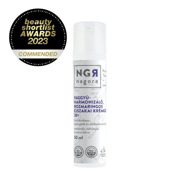 Faggyú-harmonizáló, rozmaringos krémgél 30+ kombinált, vízhiányos és zsíros bőrre 50 ml
