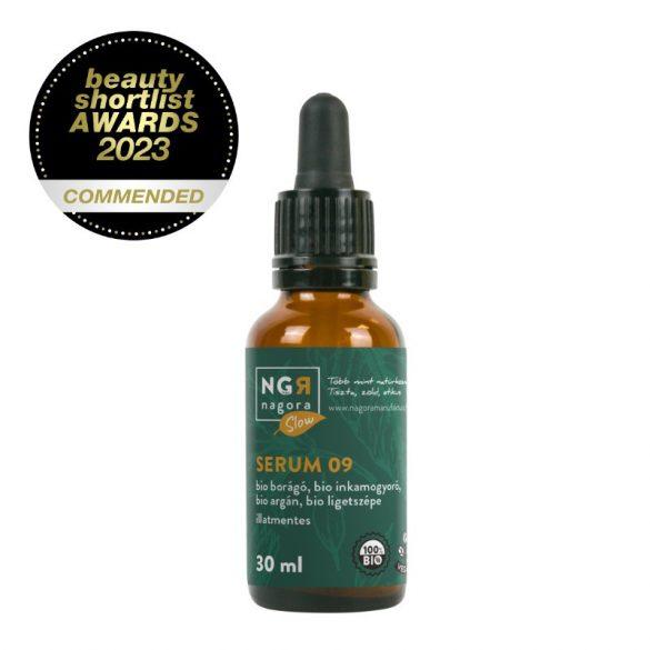 Serum 09 bio borágó- és inkamogyoró olajjal 30 ml