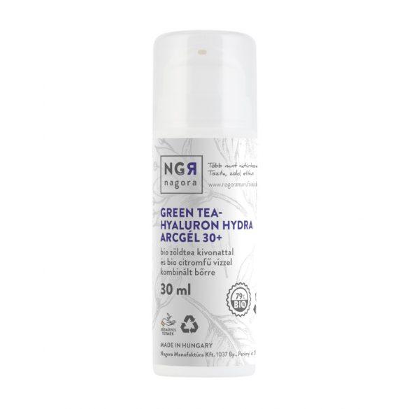 Green tea - hyaluron 30+ hydra arcgél kombinált bőrre 30ml