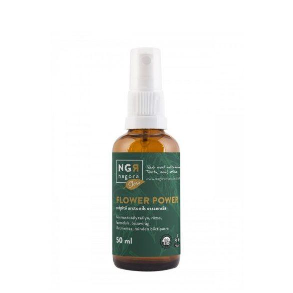 Flower Power szépítő, anti-aging arctonik esszencia 50ml