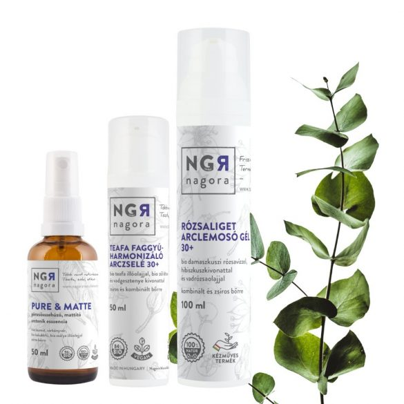 Zsíros bőr - Skin balance essentials