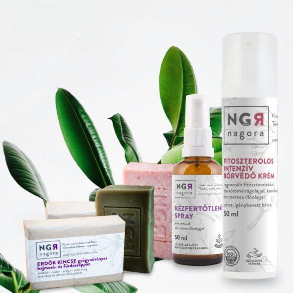 Teljeskörű higiéniás és bőrvédelem csomag