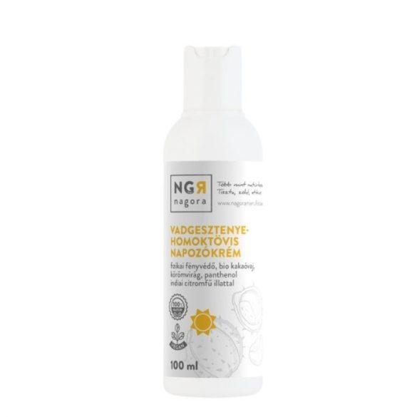 Vadgesztenye-homoktövis napozókrém fizikai fényvédővel 100 ml