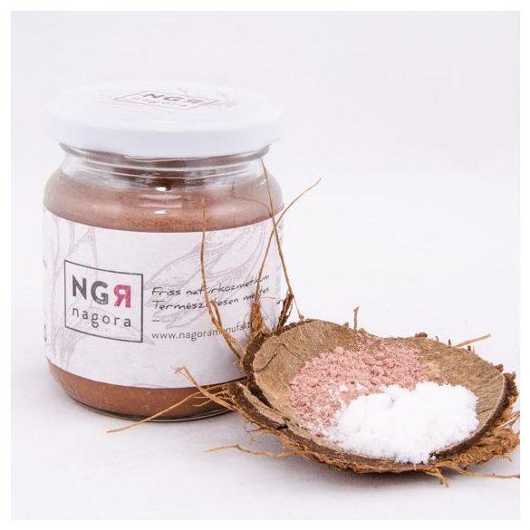 Holt-tengeri sós, rózsaszín agyagos testradír száraz bőrre  220ml