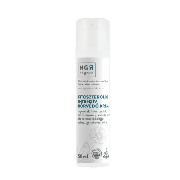Fitoszterolos intenzív bőrvédő krém 50 ml - ekcémás bőrre