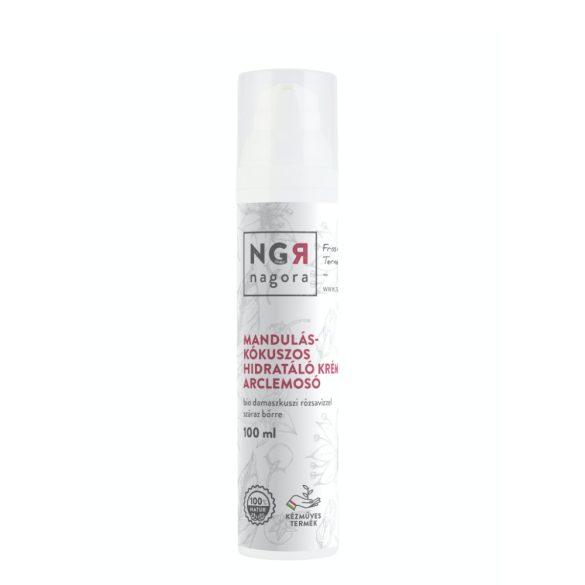 Mandulás-kókuszos hidratáló krémes arclemosó száraz bőrre 100ml