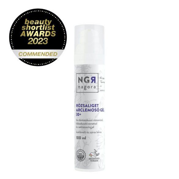 Rózsaliget arclemosó gél 30+ kombinált és zsíros bőrre 100 ml