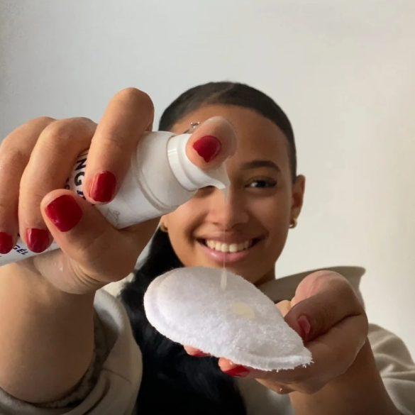 Nagora mosható bambusz arctisztító korong 7db