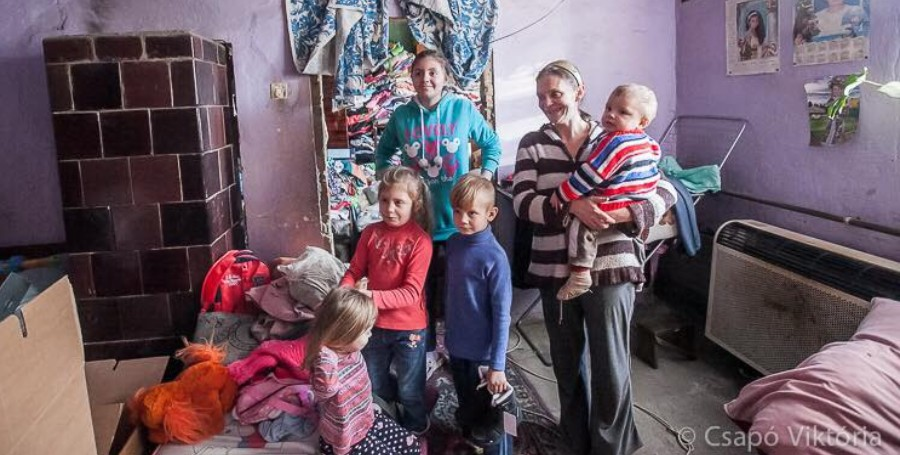 Nagora adomány nehézsorsú család