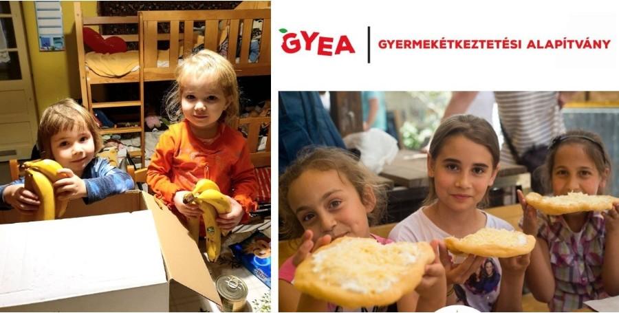 Nagora adomány a gyermekétkeztetési alapítványnak