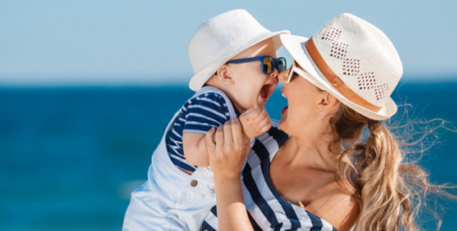 Napvédelem gyerekeknek