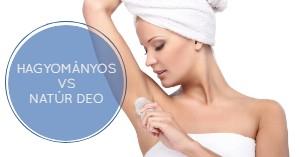 Lehet hatékony egy natúr dezodor?